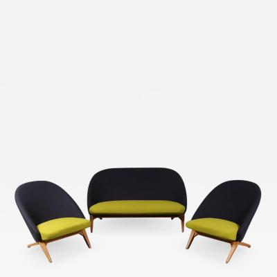 Theo Ruth Iconic Seating Set by Theo Ruth for Artifort Netherlands circa 1950