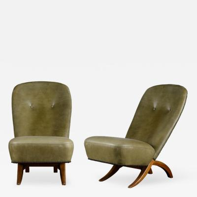 Theo Ruth Pair of Theo Ruth Congo Chairs