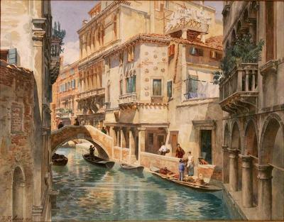 Theodor Alphons Venice Dreams