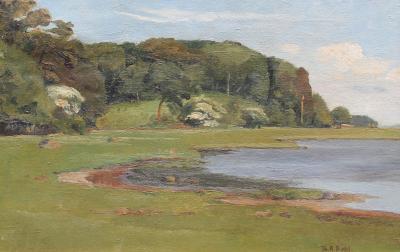 Theodor Bernhard Dahl A Summer Landscape