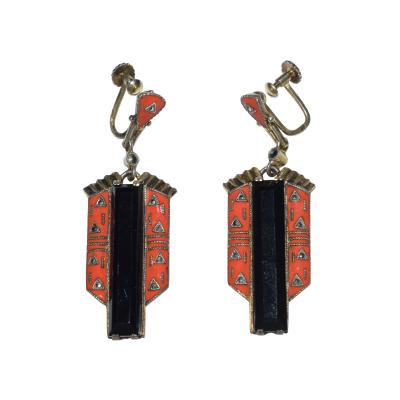 Theodor Fahrner Earrings Art Deco 1925