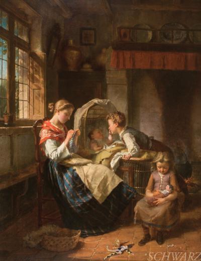 Theodore Gerard A Family Scene