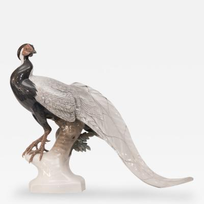 Theodore K RNER A Remarkable Life Size Model of a Silver Pheasant 1929 for Rosenthal