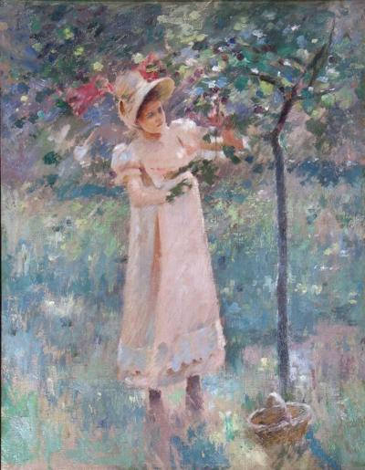 Theodore Robinson The Plum Tree