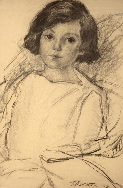 Theresa Ferber Bernstein Young Girl Seated