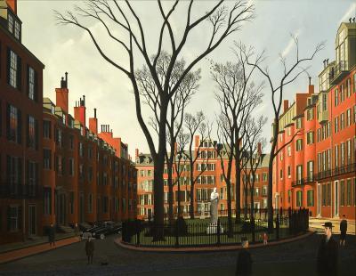 Thomas Adrian Fransioli Louisburg Square Boston