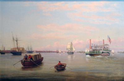 Thomas Birch Philadelphia Harbor