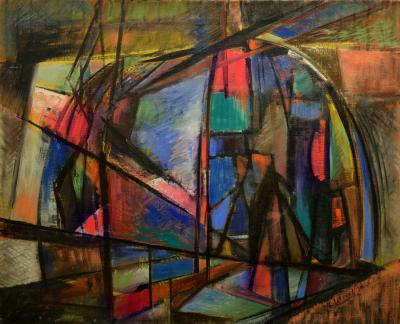 Thomas Brownell Eldred Abstraction