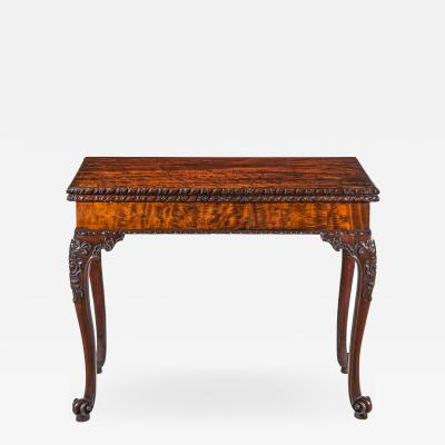 Thomas Chippendale 18th Century Chippendale Pier Table or Games Table