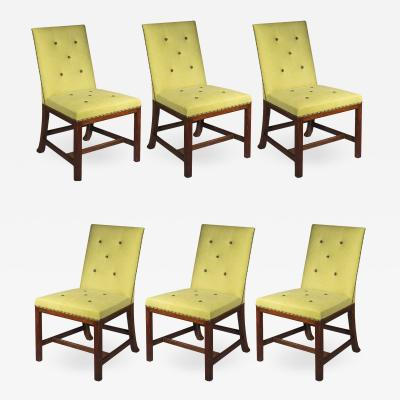 Thomas Chippendale Set of Six Chippendale Dining Chairs