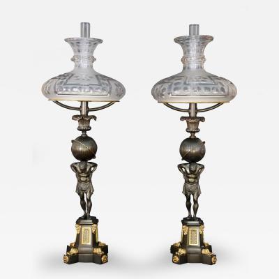 Thomas Clutton Salt A Pair of Regency Sinumbras