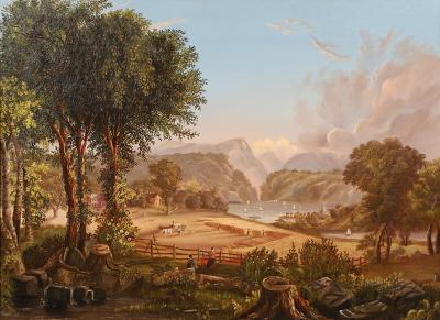 Thomas Cole STORM KING MOUNTAIN