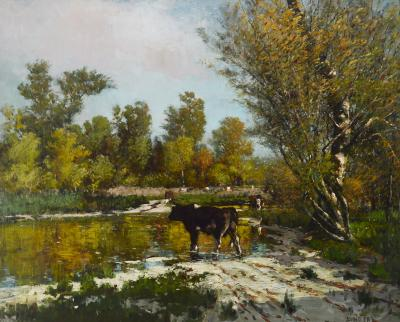 Thomas Corwin Lindsay Summer Stream