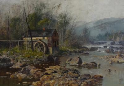 Thomas Corwin Lindsay The Old Mill