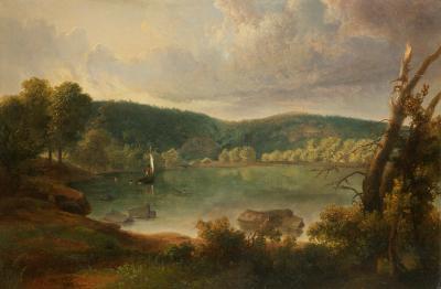 Thomas Doughty On the Lake