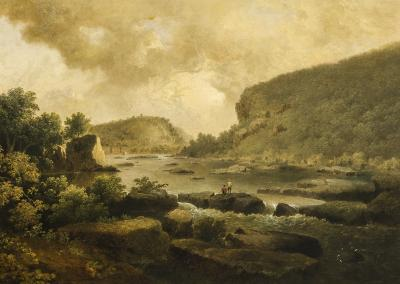 Thomas Doughty View of Harpers Ferry from Below