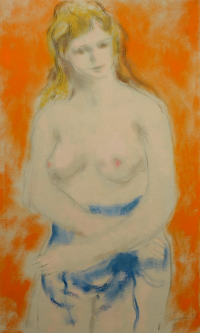 Thomas Fogarty Jr Draped Nude