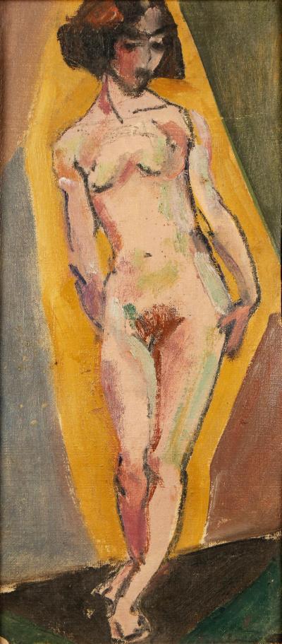 Thomas Furlong Standing Nude