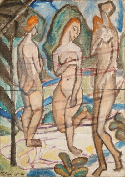 Thomas Furlong Three Nudes