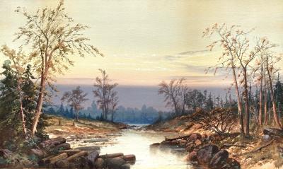 Thomas Gibbs Moses Wilderness Sunset