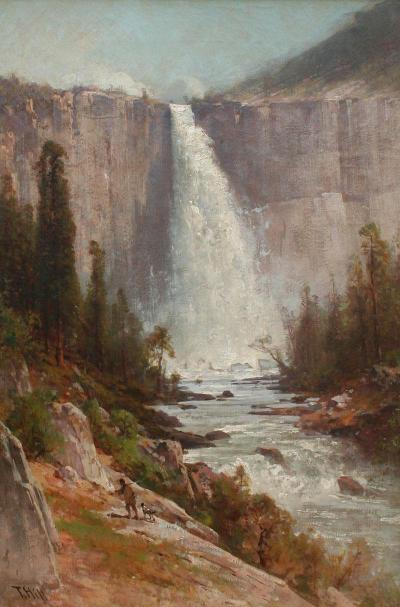Thomas Hill Nevada Falls Yosemite