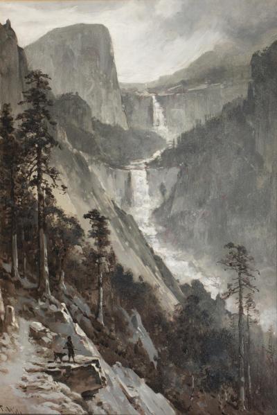 Thomas Hill Vernal and Nevada Falls