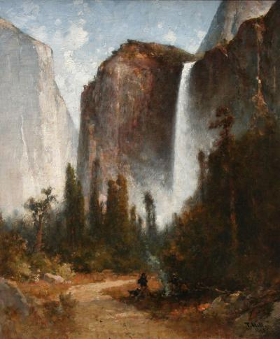 Thomas Hill Yosemite Falls