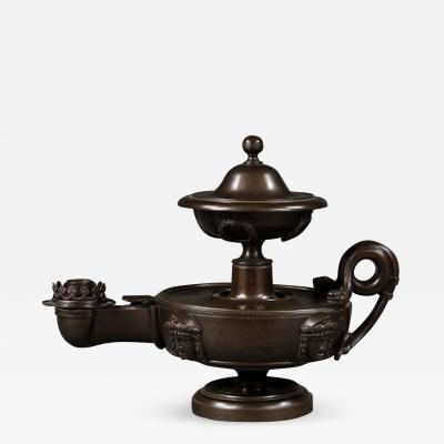 Thomas Hope An early 19th century oil lantern