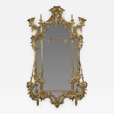 Thomas Johnson A George III Style Giltwood Mirror