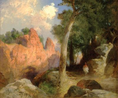 Thomas Moran Offered by RAINONE GALLERIES