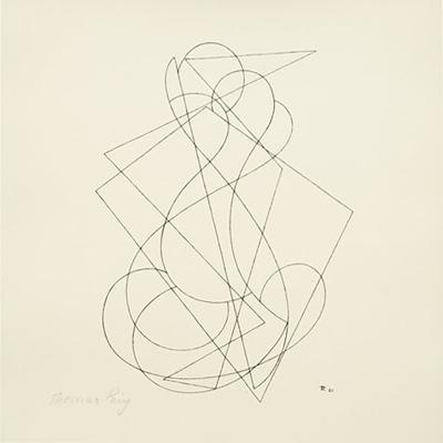 Thomas Ring Drawing Construction 1921