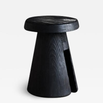 Thomas Serruys ATELIER THOMAS SERRUYS DATA STOOL IN EBONIZED OREGON PINE