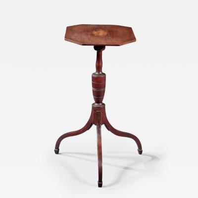 Thomas Seymour Federal Inlaid Tilt Top Tripod Stand