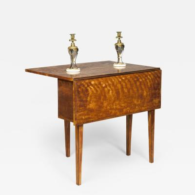 Thomas Sheraton Antique Georgian Satinwood Pembroke Suprise Sidetable Table