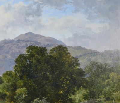 Thomas Stanley Barber Betws y Coed North Wales Large 19th Century Welsh Landscape Oil Painting