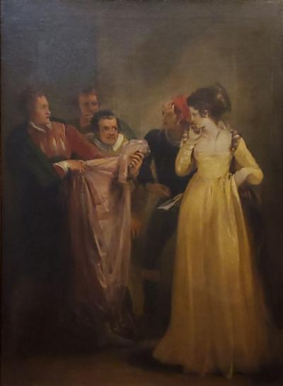 Thomas Stothard Katherine and The Tailor From Taming Of The Shrew