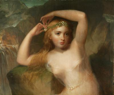 Thomas Sully A Sea Nymph