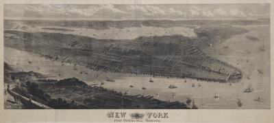 Thomas Sulman A highly detailed prospect of Manhattan