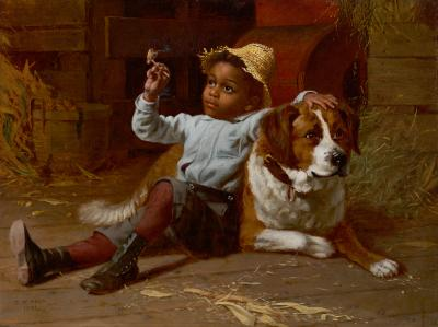 Thomas Wood His First Smoke 1891