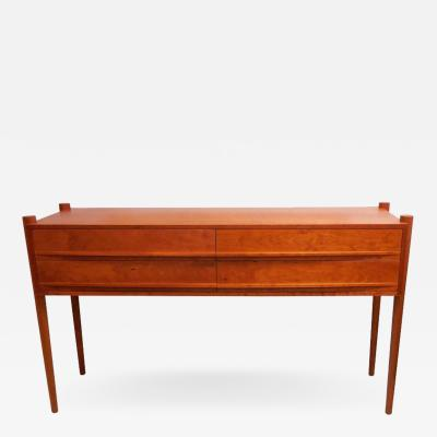 Thos Moser Thos Moser Simple and Elegant Cherry Ellipse Sideboard