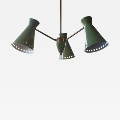 Three Light Italian Diabolo Pendant