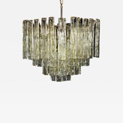 Tiered Murano Chandelier Manner of Mazzega