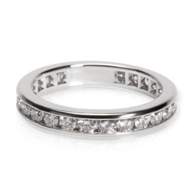 Tiffany Co Channel Diamond Wedding Band in Platinum 0 33 CTW