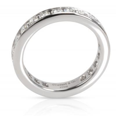Tiffany Co Channel Set Diamond Eternity Band in Platinum 1 00 CTW