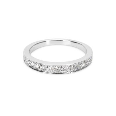 Tiffany Co Diamond Band in Platinum 0 33 CTW