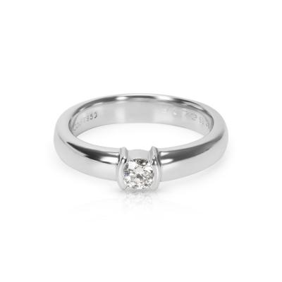 Tiffany Co Diamond Engagement Ring in Platinum 0 19 CTW