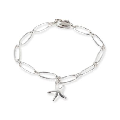 Tiffany Co Elsa Peretti Sarfish Bracelet in Sterling Silver