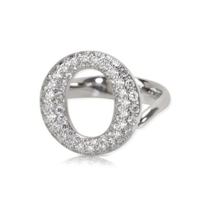 Tiffany Co Elsa Peretti Sevillana Diamond Ring in Platinum 0 80 CTW
