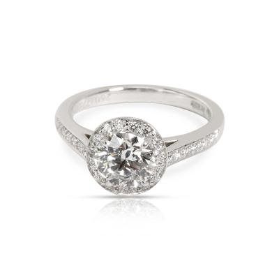 Tiffany Co Embrace Diamond Engagement Ring in Platinum G VVS1 1 43 CTW