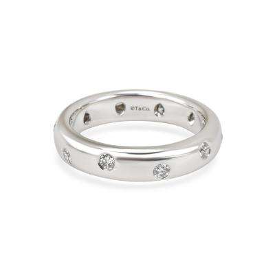 Tiffany Co Etiole Diamond Band in Platinum 0 20 CTW